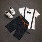 เสื้อ+กางเกง สีขาว แพ็ค 3 ชุด ไซส์ 120-130-140 (เลือกไซส์ได้)