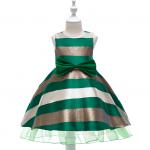 ชุดกระโปรง สีเขียว แพ็ค 6 ชุด ไซส์ 100-110-120-130-140-150 (เลือกไซส์ได้)