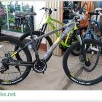 จักรยานเสือภูเขา TRINX M136 26 นิ้ว เกียร์ 21 สปีด โช้คหน้า เฟรมอลูมิเนียม 2018