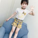 เสื้อ+กางเกง สีเหลือง แพ็ค 4 ชุด ไซส์ 130-140-150-160 (เลือกไซส์ได้)