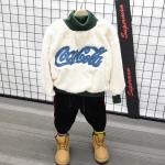 เสื้อกันหนาว (ด้านในมีขน) สีครีม แพ็ค 5 ชุด ซส์ 7-9-11-13-15