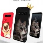 เคส Samsung Note 8 พลาสติกสกรีนลายการ์ตูนน่ารักมากๆ ราคาถูก (ไม่รวมสายคล้อง)
