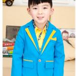 แจ็คเก็ต(ไม่รวมเสื้อตัวใน) สีฟ้า แพค 5 ตัว ไซส์ 100-110-120-130-140