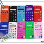 case iphone 5 เคสไอโฟน5 เคสซิลิโคนรูปเครื่องคิดเลข เก๋ๆ แปลกๆ Silicone Case Creative retro calculator