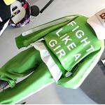 เสื้อ+กางเกง สีเขียว แพ็ค 5ชุด ไซส์ 100-110-120-130-140