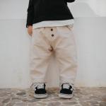 กางเกง สีเบจ แพ็ค 5 ชุด ไซส์ 80-90-100-110-120