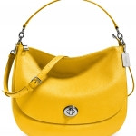 Preorder COACH TURNLOCK HOBO IN PEBBLE LEATHER Style No: 36762
