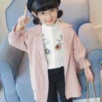 เสื้อแจ็คเก็ต สีชมพู แพ็ค 6ชุด ไซส์ 100cm-110cm-120cm-130cm-140cm-150cm
