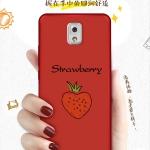 เคส Samsung Note 3 พลาสติกลายการ์ตูนน่ารักมากๆ พร้อมสายคล้องเข้ากัน ราคาถูก