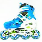 รองเท้าสเก็ต rollerblade รุ่น MMB-Kids สีฟ้า พร้อมเซทสุดคุ้ม Size S (26-32)