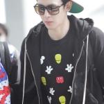 เสื้อยืดแฟชั่น มิกกี้นิชคุณ 2PM สีดำ