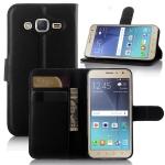 เคส Samsung Galaxy J2 แบบพับหนังเทียมสีสันสดใส สีพาสเทล สีเข้มขรึม สามารถพับตั้งได้ ราคาถูก
