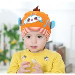 หมวก สีส้ม แพ็ค 5อัน ไซส์ 3-9เดือน (รอบศรีษะ 15-19cm)