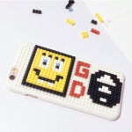 เคส iPhone 6s Plus / 6 Plus (5.5 นิ้ว) พลาสติกแบบตัวต่อเลโก้ น่ารักมากๆ ไม่ซ้ำใคร ราคาถูก