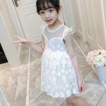 ชุดกระโปรง สีขาว แพ็ค 4 ชุด ไซส์ 120-130-140-150 (เลือกไซส์ได้)