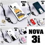 เคส Huawei Nova 3i เคสซิลิโคนลายการ์ตูน น่ารักๆ หลายลาย พร้อมแหวนจับมือถือลายเดียวกับเคส