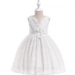 ชุดกระโปรง สีขาว แพ็ค 5 ชุด ไซส์ 110-120-130-140-150 (เลือกไซส์ได้)