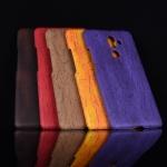 เคส Nokia 7 Plus พลาสติกแบบแข็งทำเลียนแบบลายไม้สวยมาก ราคาถูก