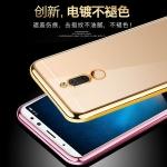 เคส Huawei Nova 2i ซิลิโคน soft case แบบนิ่ม ขอบแวววาวด้านหลังใสโชว์ตุวเครื่อง ราคาถูก