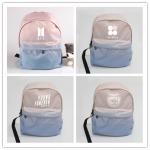 กระเป๋าเป้สีพาสเทล BTS