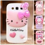 CASE Samsung Galaxy SIII (S3) Kitty My melody ซิลิโคน 3D น่ารักๆ เคสมือถือราคาถูกขายปลีกขายส่ง