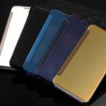 เคส Samsung Galaxy A8 แบบฝาพับเงางามสวยมากๆ ราคาถูก