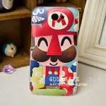 เคส Htc One X ลายมาริโอ้ HTCONEX phone shell mobile phone sets onex Super Mario G23 painted shell protective shell protective sleeve