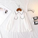 เสื้อ สีขาว แพ็ค 5 ชุด ไซส์ 7-9-11-13-15