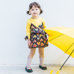 ชุดกระโปรง สีเหลือง แพ็ค 5ชุด ไซส์ 80cm-90cm-100cm-110cm-120cm