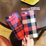 เคส iPhone 7 Plus (5.5 นิ้ว) พลาสติก TPU ลายสก๊อตสวยงามมาก ราคาถูก