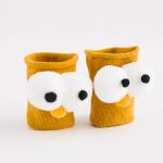 ถุงเท้าสั้น สีเหลือง แพ็ค 12 คู่ ไซส์ L (อายุ 6-8 ปี)