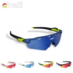 แว่นตา Cinalli Eyewear Sunglasses Cycling Racing Googles Protective , C-078 มี 4 เลนส์