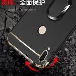 เคส Huawei Nova 3e (P20 Lite) พลาสติกขอบทองสวยหรูหรามาก ราคาถูก