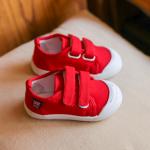 รองเท้าเด็กแฟชั่น สีแดง แพ็ค 6 คู่ ไซส์ 23-24-25-26-27-28