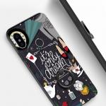 เคส Xiaomi Mi A2 พลาสติกสกรีนลายการ์ตูน พร้อมแหวนในตัว ขอบเคสเป็น TPU ราคาถูก (สายคล้องเป็นสินค้าแถม)