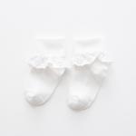 ถุงเท้าสั้น สีขาว แพ็ค 10 คู่ ไซส์ ประมาณ 7-10 ปี