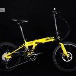 จักรยานพับ BACKER K-200 เฟรมอลู 18 สปีด Shimano Sora 2018