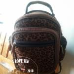 เป้ลายเสือ (old school backpack) - สั่งไม่ได้ค่ะผ้าหมด