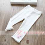 กางเกง สีขาว แพ็ค 5 ชุด ไซส์ 100-110-120-130-140