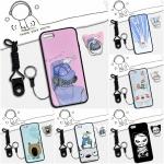 เคส iPhone SE / 5s / 5 ซิลิโคน soft case สกรีนลายการ์ตูนน่ารักๆ พร้อมสายคล้องและแหวน ราคาถูก