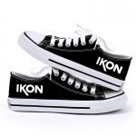 รองเท้าผ้าใบ iKON สีดำ
