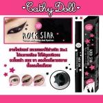 Cathy Doll Rockstar Tattoo sexy Stamp & Eyeliner อายไลน์เนอร์ 2 หัวที่สาวๆ Party Girl ต้องมี