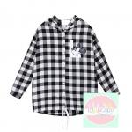 เสื้อแฟชั่น Dongguk L LOVE 2014 ดำ เทา (แขนยาว)