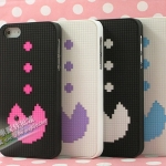 case iphone 5 เคสไอโฟน5 ย้อนยุคไปกับเกม Pacman ลายน่ารักๆ สีหวานๆ
