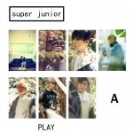 การ์ดใส Super Junior - PLAY