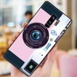 เคส Samsung S9 Plus ซิลิโคนรูปกล้องถ่ายรูปน่ารัก ตรงเลนส์สามารถยืดออกมาตั้งได้ พร้อมสายคล้อง ราคาถูก