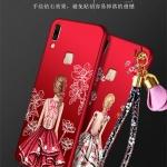 เคส Samsung A8 Star ซิลิโคนสกรีนเจ้าหญิง พร้อมสายคล้องมือ (แหวนแล้วแต่ร้านจีนแถมหรือไม่) ราคาถูก