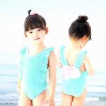 ชุดว่ายน้ำ สีฟ้า แพ็ค 5 ชุด ไซส์ 2-3ปี ,3-4ปี ,4-5ปี ,5-6ปี,7-8ปี
