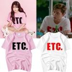 เสื้อยืด (T-Shirt) ETC. แบบ Park Seo Joon ในซีรี่ย์ Fight For My Way