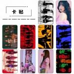 สติ๊กเกอร์การ์ด Red Velvet - BADBOY
